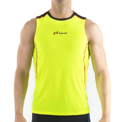 MAN SLEEVELESS T-SHIRT TRAIL – VIRTUAL