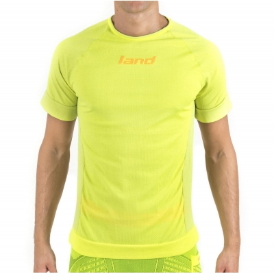 T-SHIRT À  M/COURTES  RUNNING – STRIPE